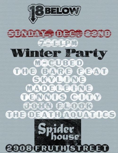 18 Below Winter Party