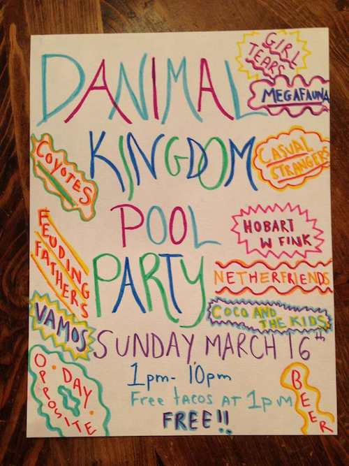 Danimal Kingdom Pool Party