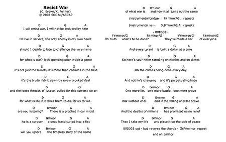 ResistWar_Lyrics-Chords