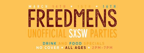 Freedmens SXSW