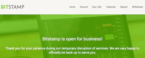 Bitstamp Open
